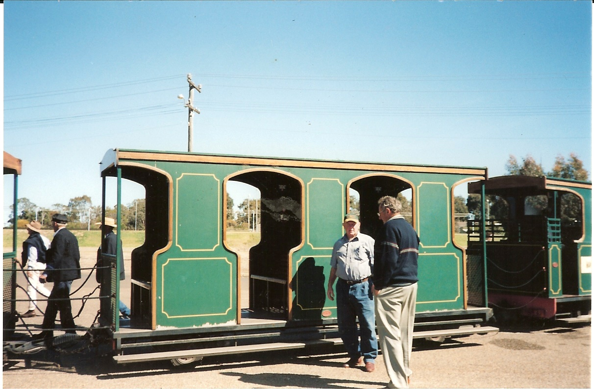 Zoo Train Carriage